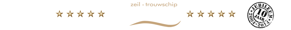 Zeil- Trouwschip Bounty